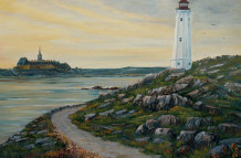 Louisbourg Lighthouse 032