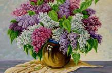 Lilacs in Vase 009